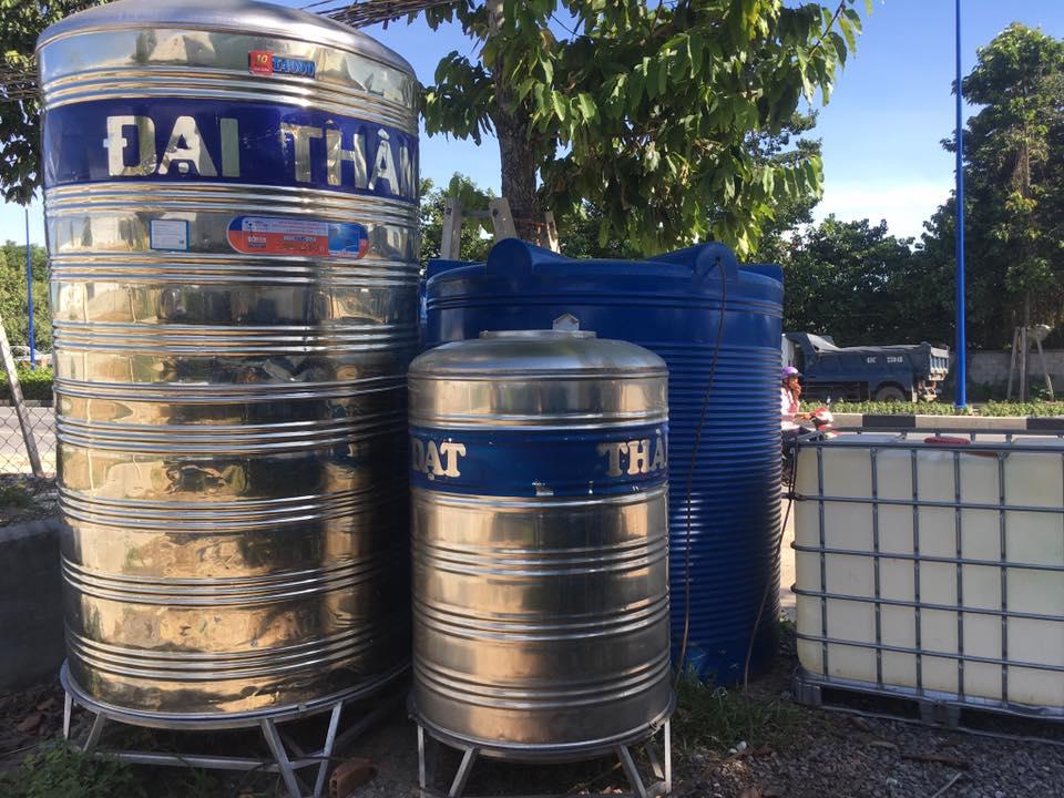 thanh lý téc nước cũ tại hải phòng 0913040613 - téc nước cũ - docuhaiphong.vn